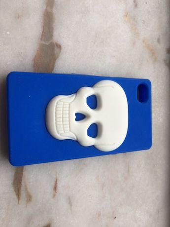 Capa em silicone para iPhone 4s nova