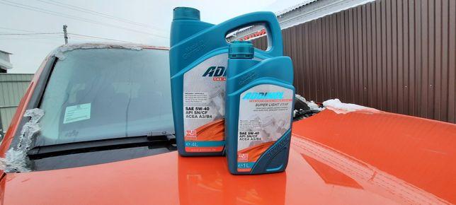 Addinol 5w30 504/507 5 л .Замена масла 150 грн