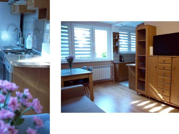 Dwupokojowe mieszkanie w Jelitkowie.