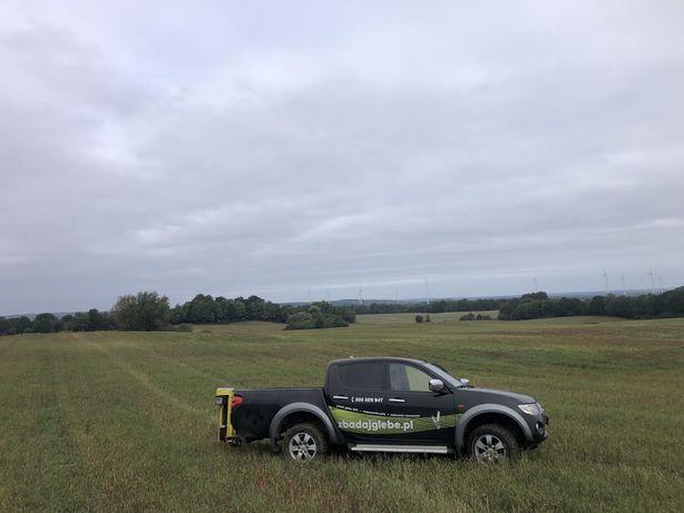 Badania gleby , dron, zdjęcia NDVI, badania azotu, szkody łowieckie