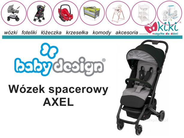 Wózek spacerowy dla dziecka Espiro Axel KOLEKCJA 2019 KOLOR 07