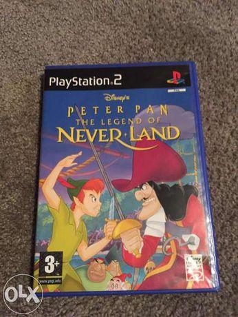 Jogo PS2 - Peter Pan - The Legend of Neverland