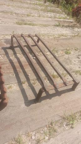 Ruszta ruszt nogi uchwyty palenisko żeliwne stalowe