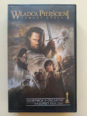 Kaseta VHS Władca Pierścieni - Powrót Króla