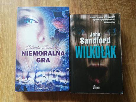 Książki o tematyce kryminalnej, Niemoralna gra, Wilkołak