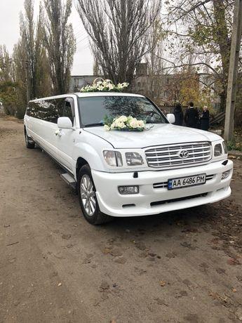 Аренда лимузинов и VIP Авто на свадьбу от 30$ в час