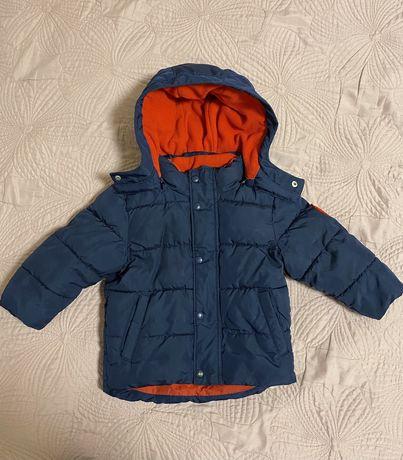 Комплект комбинезон полукомбинезон gap куртка для мальчика зимний э