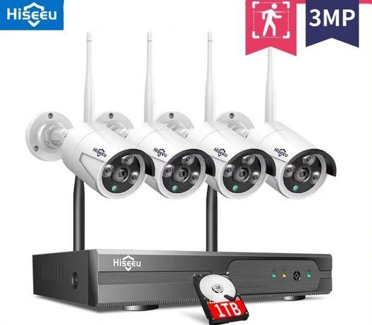 Sistemas de video-vigilância completos - novos em caixa