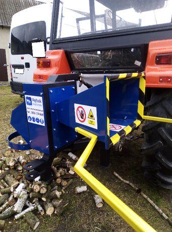 Rozdrabniacz do gałezi do 9cm-film walcowy do traktora rebak t25 c330