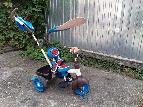 Rowerek trójkołowy Little Tikes 4 w 1 rower dla dziecka spacerówka