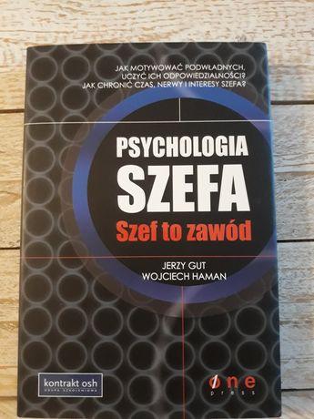 Psychologia szefa.Szef to zawód.Jerzy Gut,Wojciech Haman