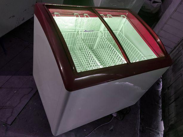 Морозильні камери ларі 3-5 корзин,Підсвітка Гарний стан,без передплат!