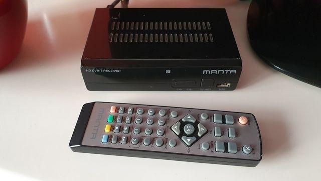 Dekoder DVB-T Tuner DVB-T Manta DVBT010 USB HDMI MP3 XviD