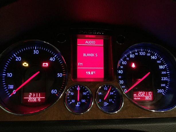 Display lcd vw passat golf eos