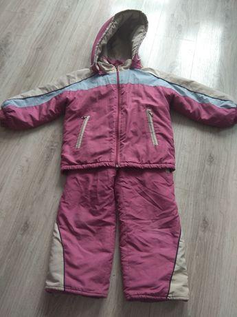 Kotlet zimowy kurtka i spodnie