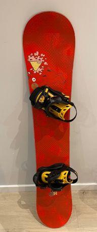 Deska snowboard Salomon Drift Rocker 156cm + wiązania Drake King