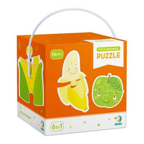 Пазлы фрукты и овощи DoDo 300155,пазлы додо 300155,пазли додо 300155