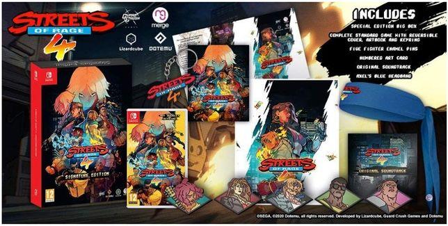 Street of Rage 4 nintendo switch edição Limitada
