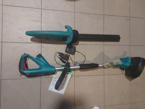 Nożyce do zywopłotu akumlatorowe bosch  podkaszarka 2x Bateria