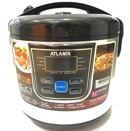 Мультиварка ATLANFA 6Л 900Вт 12 прогр пароварка скороварка рисоварка!
