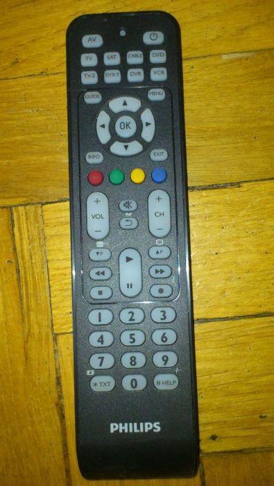 Pilot Uniwer. Philips SRP2008B/86 Tv,Tv-2,SAT,DVB-T,CABLE,DVR,DVD,VCR. Mielec - image 1