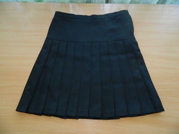 Юбка школьная черная для девочки