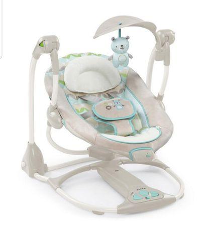 Huśtawka leżak niemowlęcy ingenuity