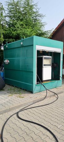 Zbiornik stalowy, dwupłaszczowy do oleju napędowego pojemność 10000L
