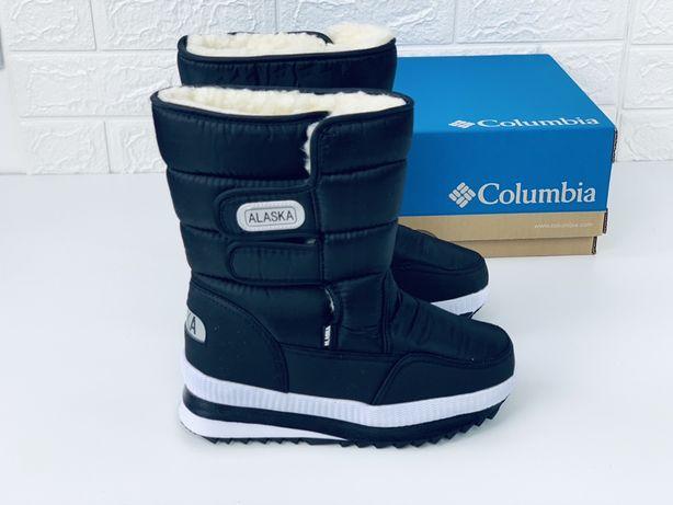 Сапоги дутики аляска Alaska термо ботинки Аляска Caroc Columbia