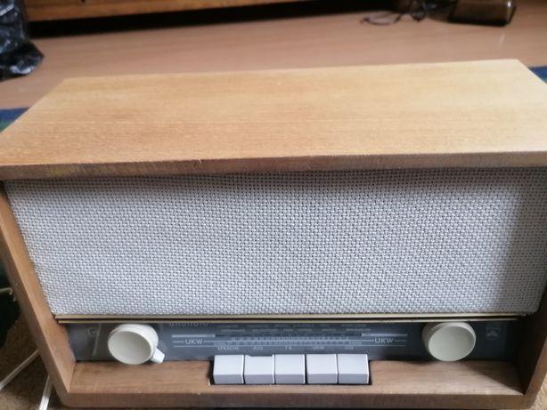 Unikatowe Radio Lampowe Grundig typu 92 Ma Sprawny