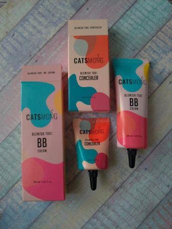 Набор catsmong blemish tok! bb cream + concealer (вв крем + консилер)