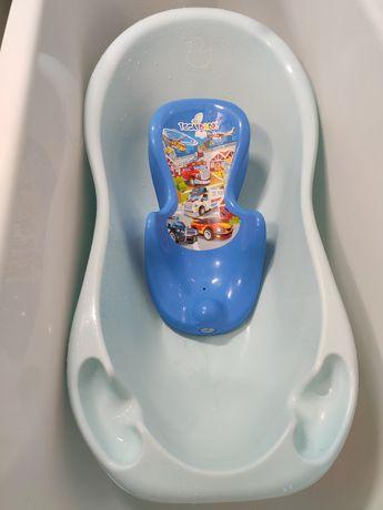 Ванночка и горка для купания детей