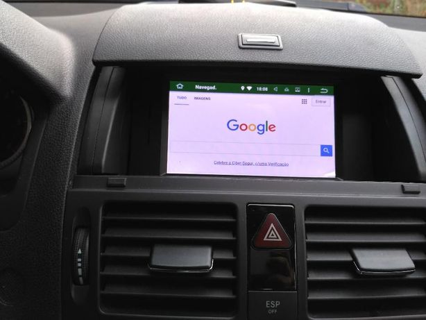 Auto Rádio Android GPS Mercedes Classe C W204 DVD Bluetooth 2007