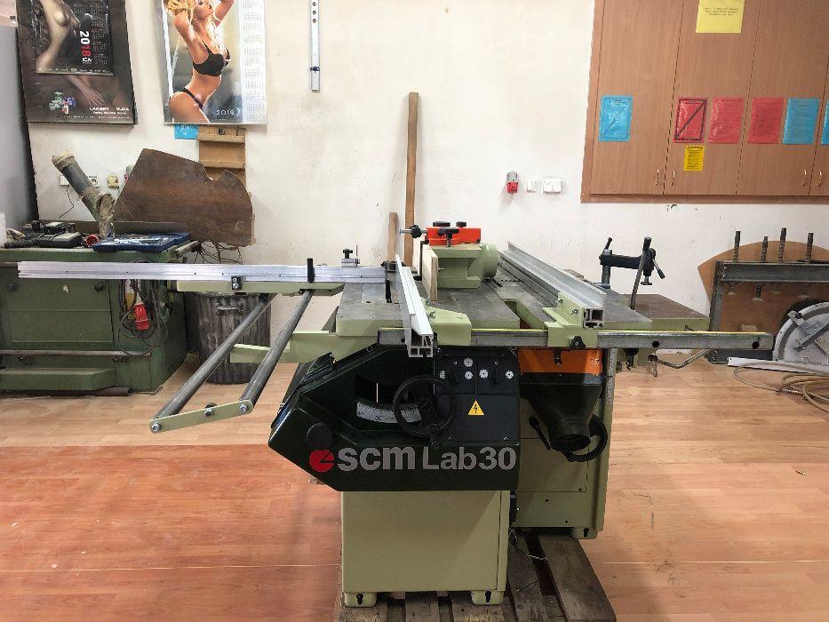 Obrabiarka wieloczynnościowa SCM MiniMax LAB 30 / 5w1 piła formatowa