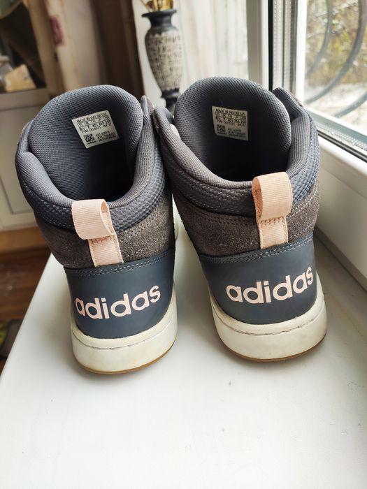 Красовки Adidas ОРИГИНАЛ кожаные ботинки Луганск - изображение 1