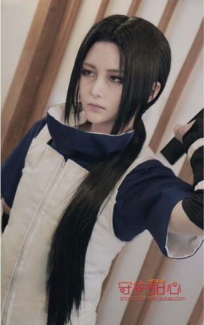 Косплей парик из аниме Наруто, Итачи Учиха.