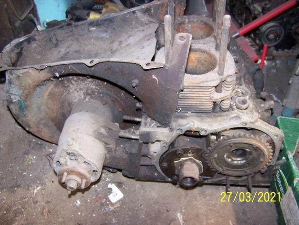 silnik maluch fiat 126p blok wał tłoki