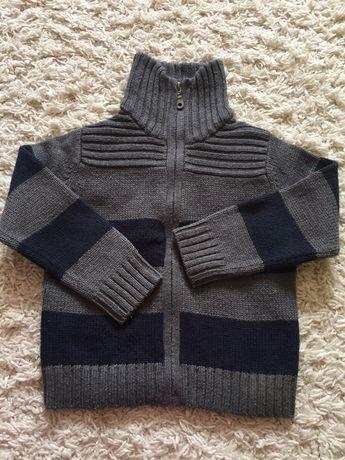 Ciepły sweter chłopiec 98
