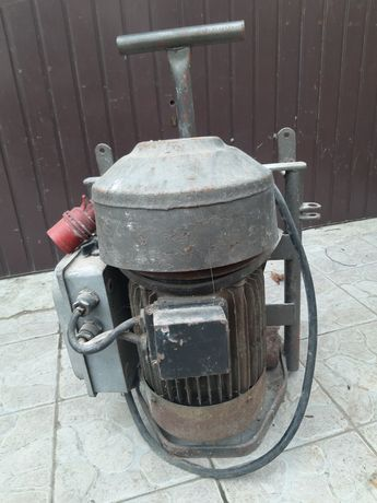 Silnik do bąka elektryczny 7.5kv 1400 obr 2 biegi bak rozdrabniacz