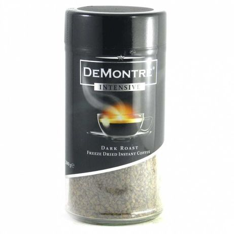 Розчинна кава De Montre intensive 200 г