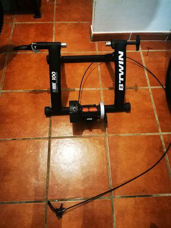 Rolos bicicleta como novos usado uma vez