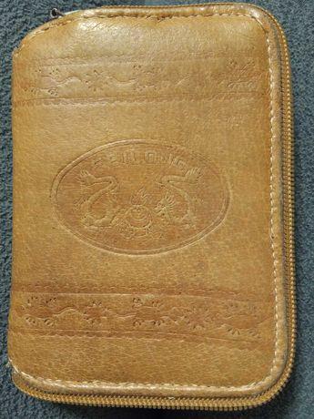Портмоне шкіряний FEILONG, якісний гаманець для справжнього Чоловіка