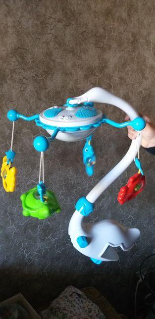 Музыкальный мобильный Beby Mix подводный мир.