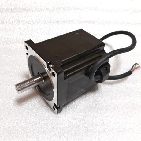 NEMA34 шаговый двигатель, мотор 1,8° 4А, вал 14мм, чпу