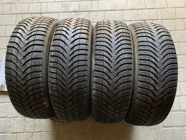 зима 195\65\R15 7,8мм Michelin Alpin A4 4шт шины шини #1