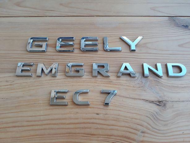 Эмблема шильдик логотип значек Geely Emgrand Ес7 джили эмгранд