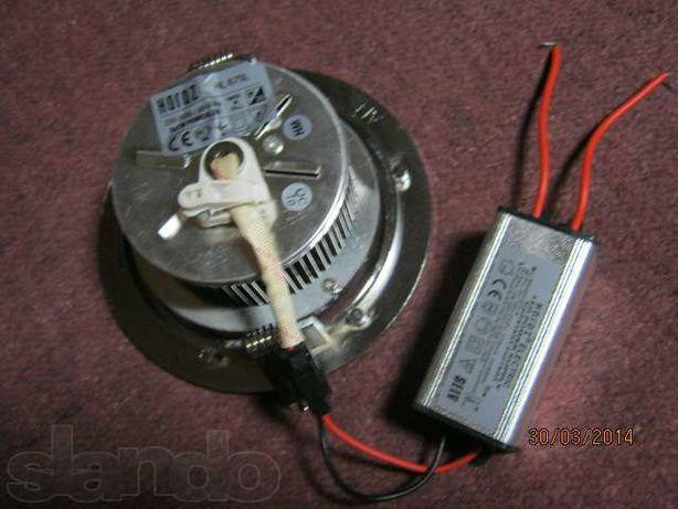 Светодиодный светильник потолочный точечный 6x1Вт