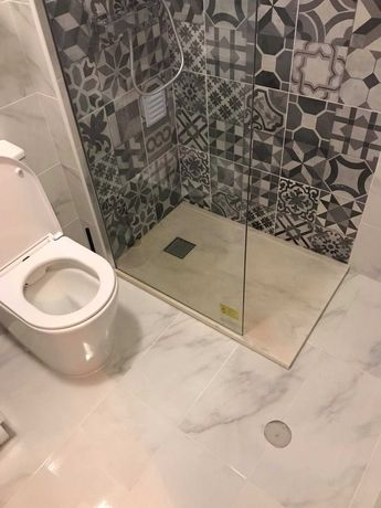 Base de duche em mármore branco feito à mão 65 cm x 100 cm