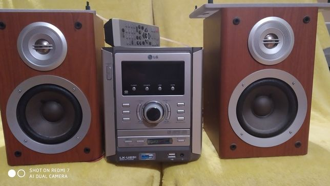 Wieża LX U251 stereo LG