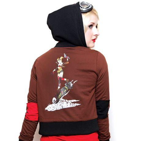 Джокер Harley Quinn ДС Комикс лимитированная кофта 1 из 500 Харли Квин
